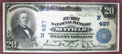 First National Bank of Suffield Federal Reserve Note