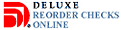 Reorder checks online from Deluxe